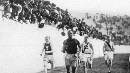 Taylor became the first black athlete to represent