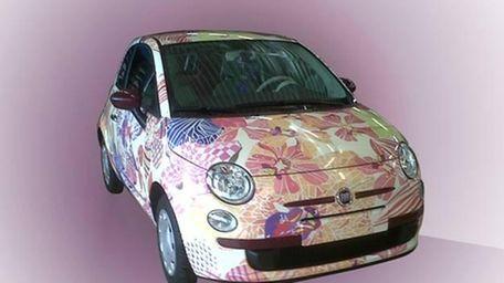 Aspiring designer Teresa Maccapani Missoni customized a Fiat