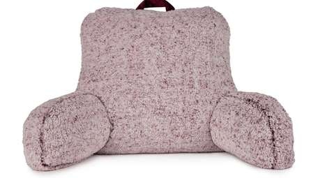 Sherpa Back Bed Rest Pillow.