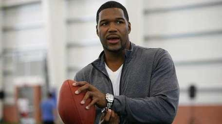 Former NY Giant Michael Strahan. (Getty)