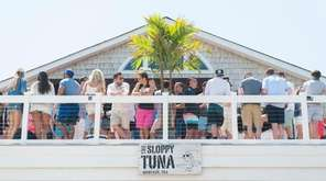 The Sloppy Tuna restaurant in Montauk has a