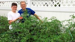 Tony Corsentino, a Tomato Challenge veteran from Mineola,
