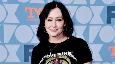 Shannen Doherty attends the Fox Summer TCA All-Star