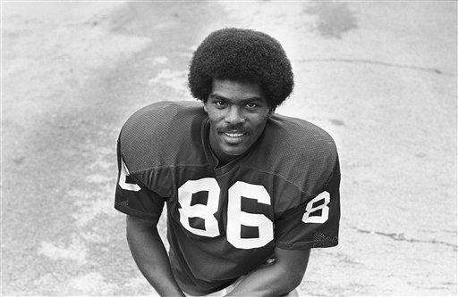 MARLIN BRISCOE Football Briscoe was the first black