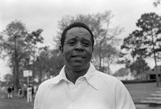 In 1975, Elder became the first black golfer