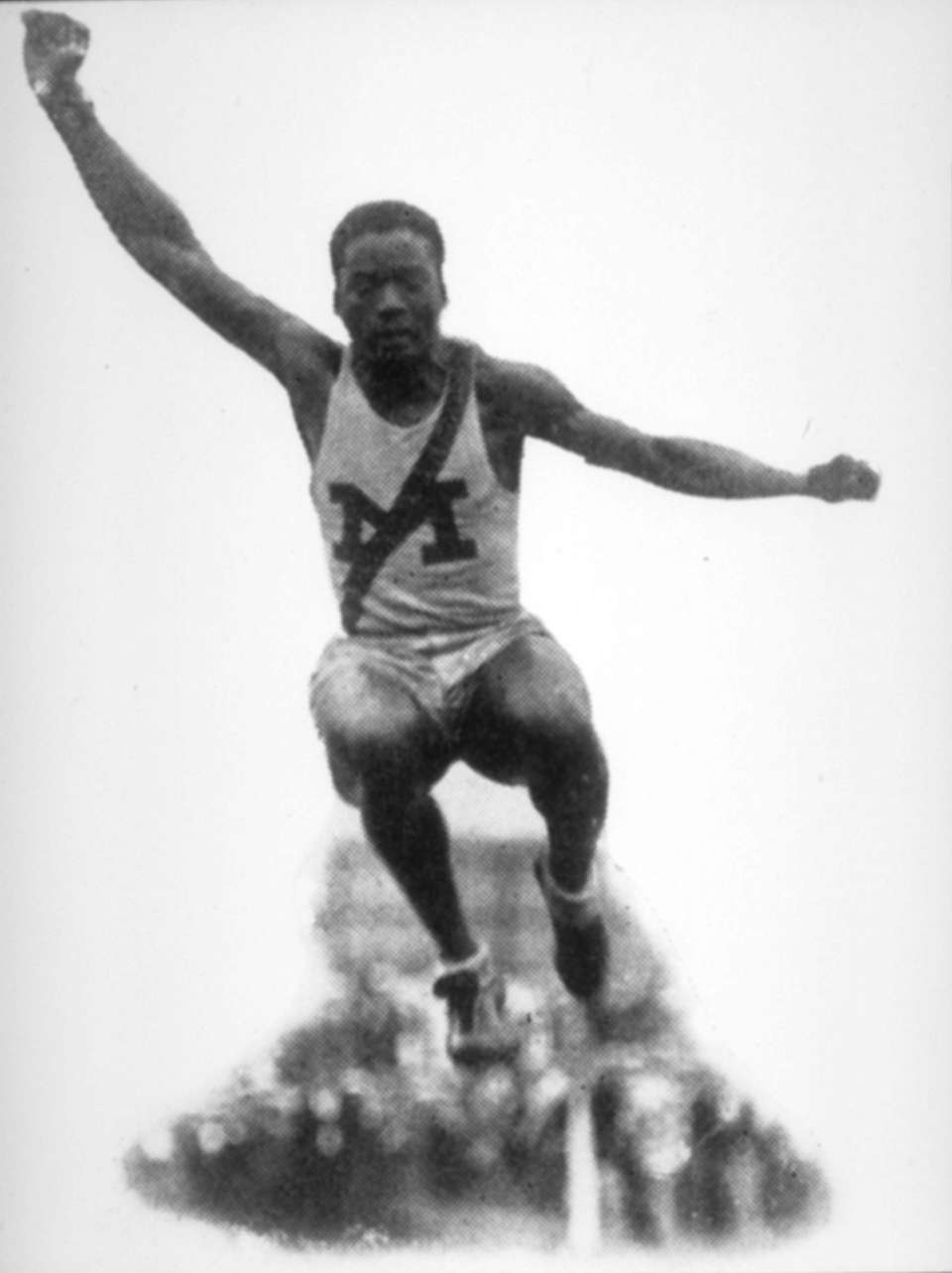 DEHART HUBBARD Olympics In the 1924 Olympic Games