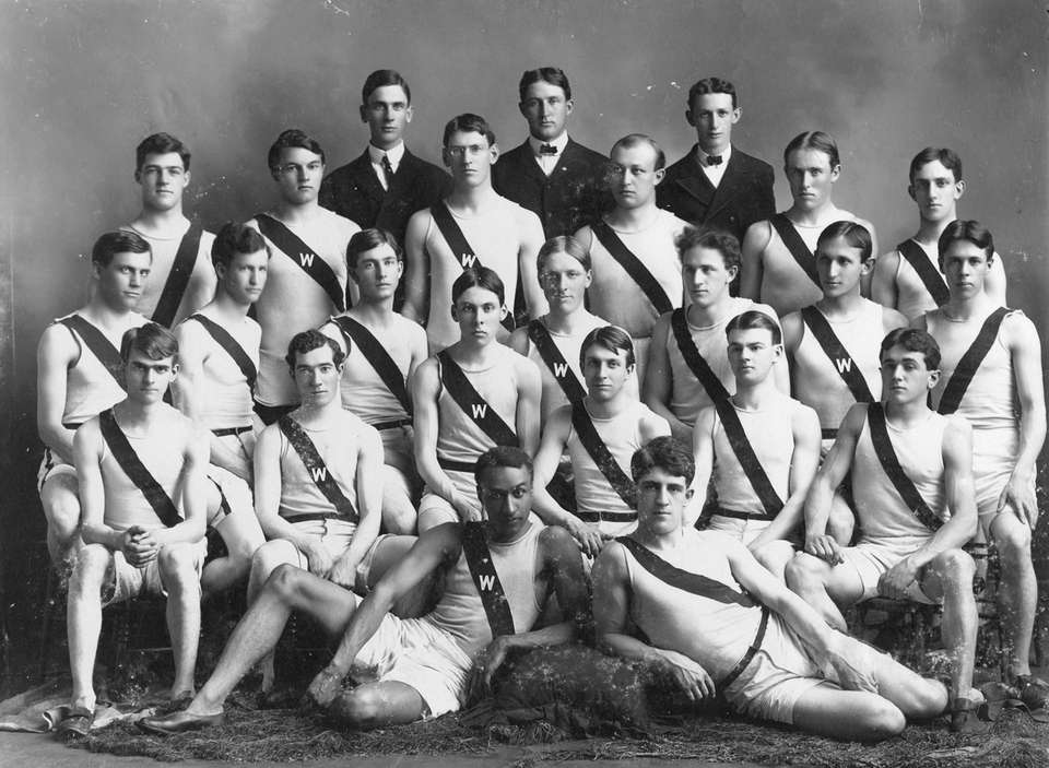 In the 1904 Olympic Games in St. Louis,