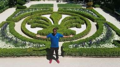Michael Bailey, 20, of Elmont, studied abroad in