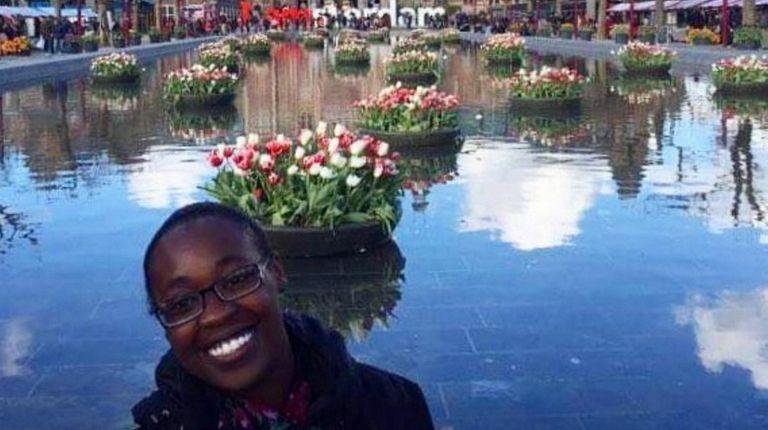 Marie Saint-Cyr, 23, of Wyandanch, studied abroad in