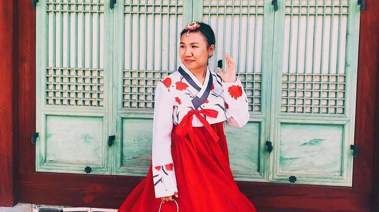 While studying abroad in South Korea, Stony Brook