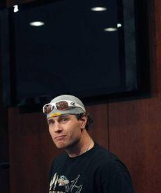 Texas Rangers' Josh Hamilton pauses during a baseball