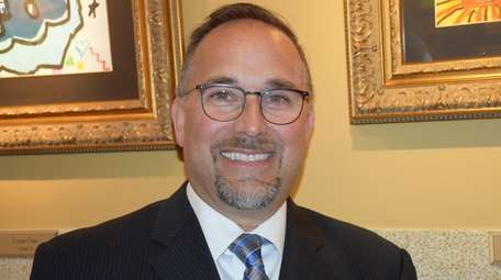 Joseph Famularo, superintendent of the Bellmore school district.