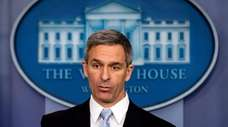 Ken Cuccinelli, acting director of U.S. Citizenship and
