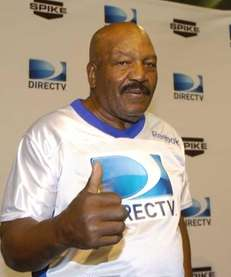 NFL Hall of Fame running back Jim Brown