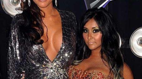 Jenni 'JWoWW' Farley and Nicole 'Snooki' Polizzi.