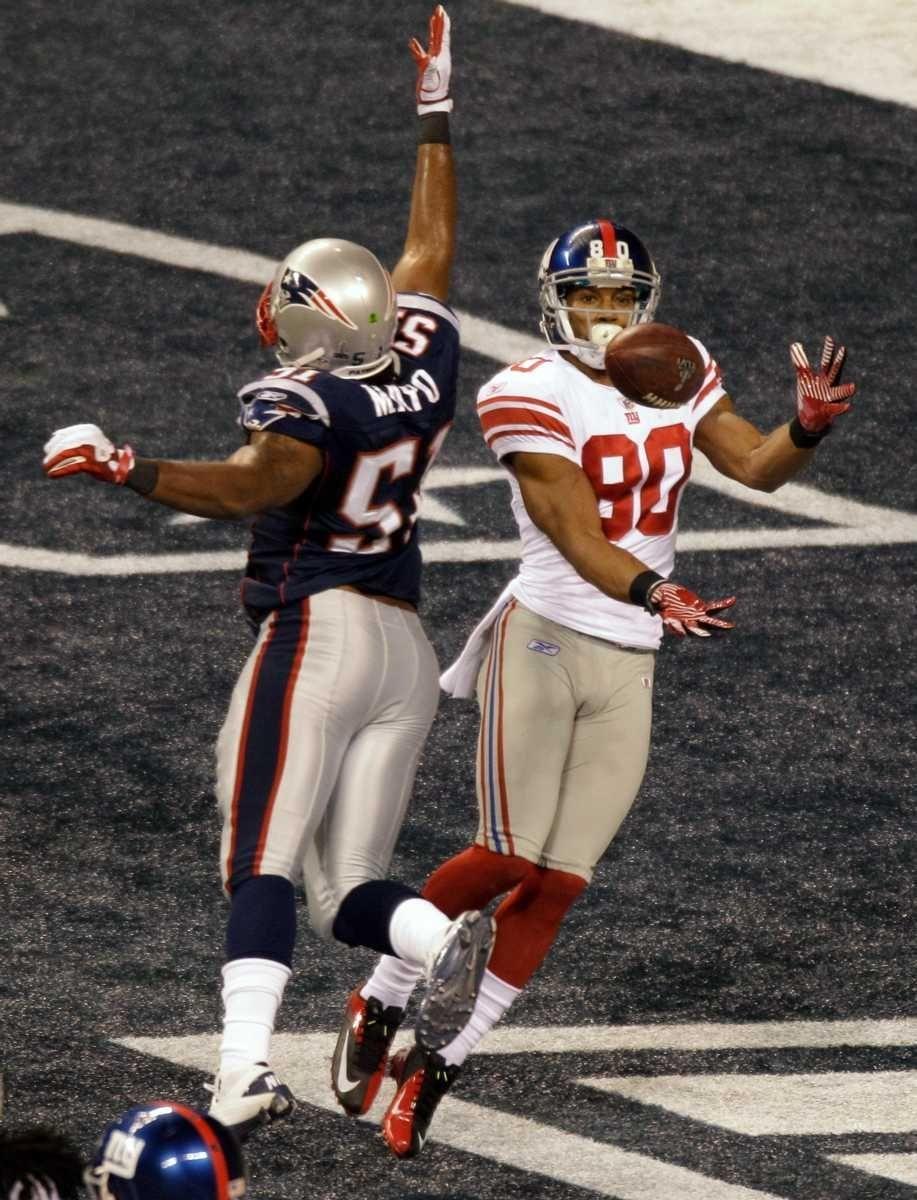 New York Giants wide receiver Victor Cruz makes