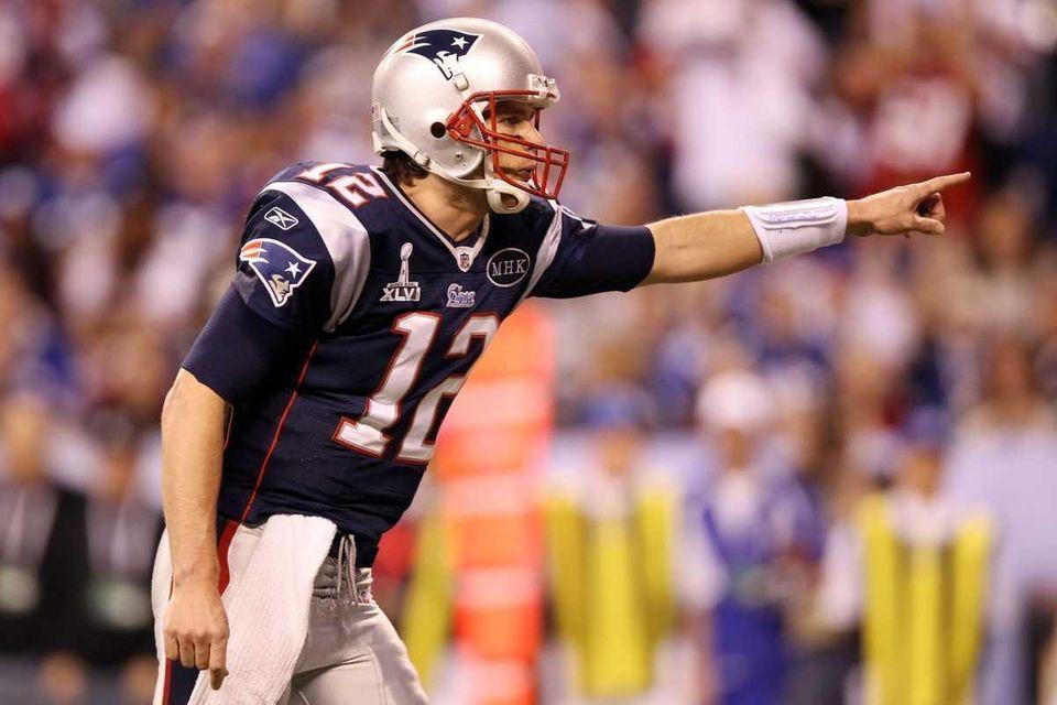 Quarterback Tom Brady of the New England Patriots
