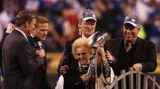 Co-Owners of the New York Giants John Mara,