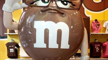 M&M's new character, Ms. Brown, made her debut