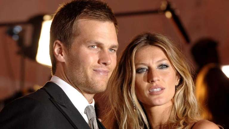 New England Patriots quarterback Tom Brady and Gisele