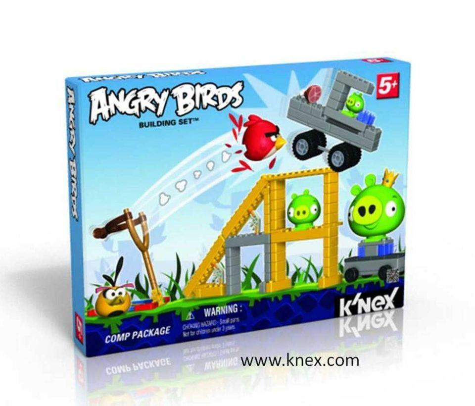 Angry Birds Building Sets (K'Nex) ($29.99; toysrus.com) BEST