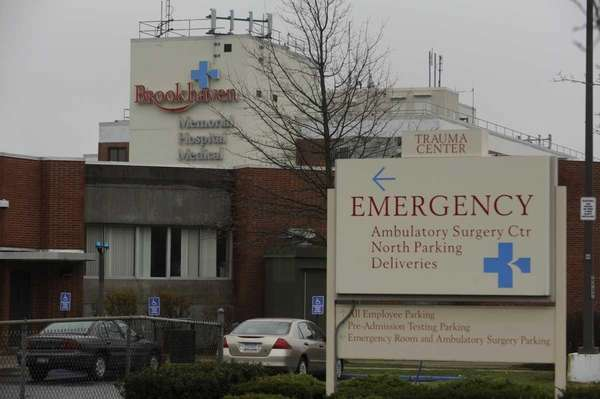 An exterior view of Brookhaven Memorial Hospital Medical