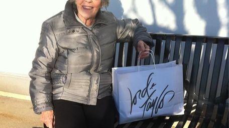 Marguerite Snider, 79, of Massapequa, at Lord &