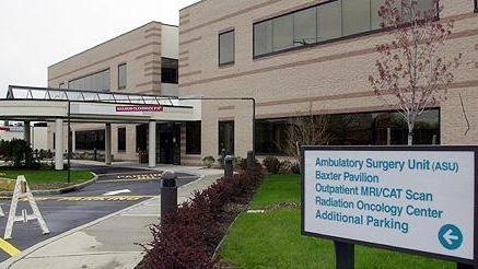 An undated exterior view of Good Samaritan Hospital