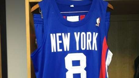 New York Nets jerseys. (Feb. 6, 2012)