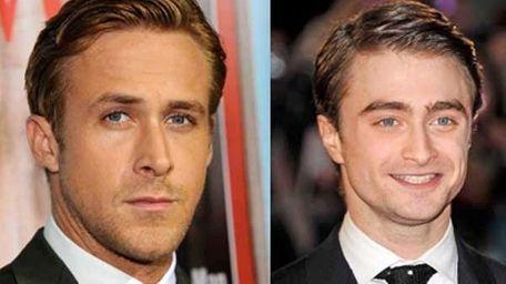 (Lto R) Ryan Gosling and Daniel Radcliffe. (Getty)