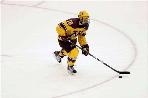 Current Islander and former Minnesota defenseman Aaron Ness