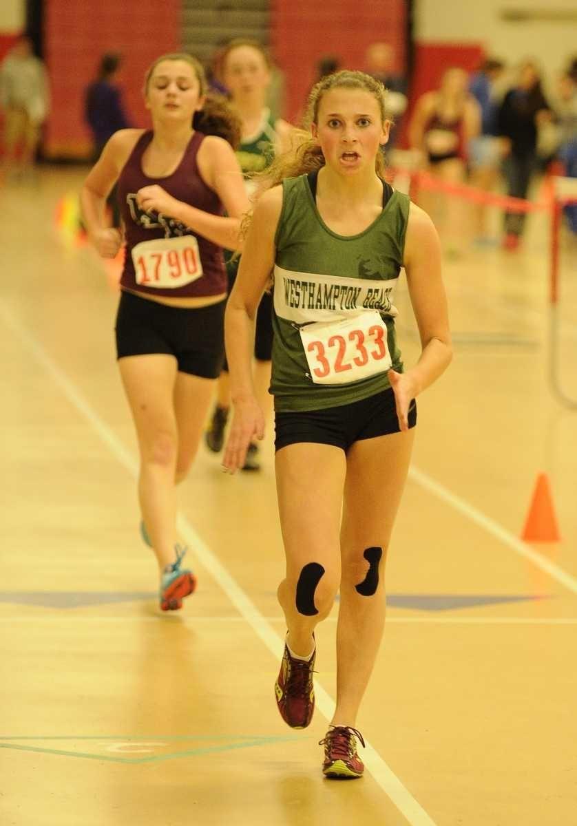 Westhampton Beach's Annica Penn wo the 1500 meter