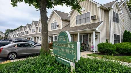 Woodbrige Senior Apartments in Farmingdale on Wednesday. The