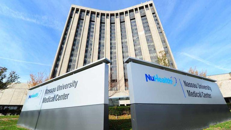 An exterior view of Nassau University Medical Center