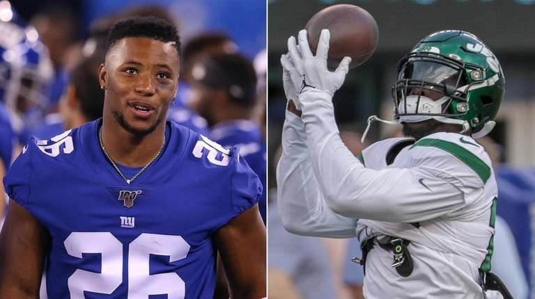 Saquon Barkley has to consider if Le'Veon Bell stumbled upon the fountain of youth for running backs