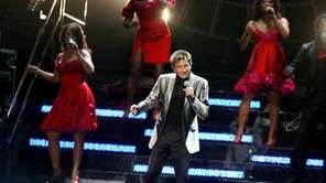 "Barry Manilow performs during his ""Ultimate Manilow: The"