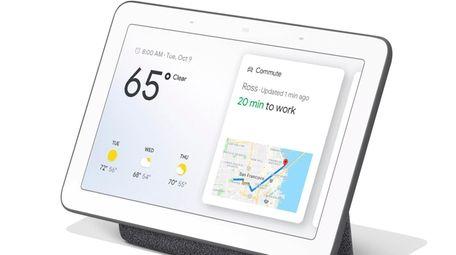 Google Nest Hub has a 7-inch touchscreen can