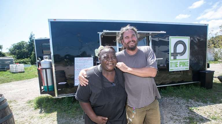 Di Jones, co-chef of The Pike food truck,