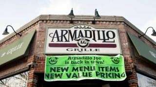 The former Armadillo Grille, Babylon