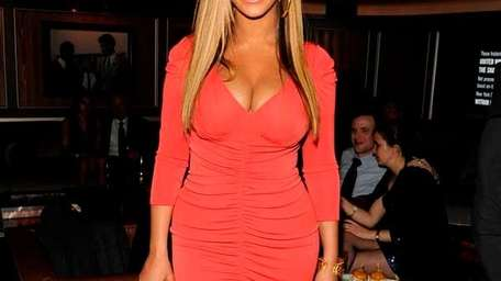 Beyonce attends the after party following Jay-Z's concert