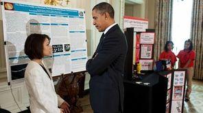 President Barack Obama hosts the second White House