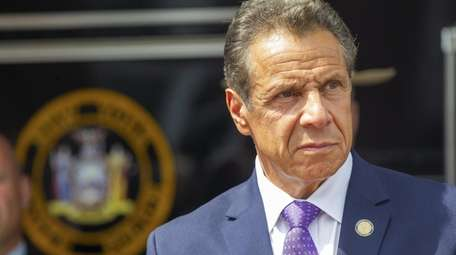 New York Governor Andrew Cuomo on Aug. 6,