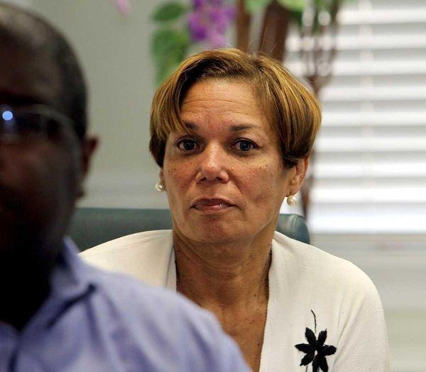 Westbury superintendent Constance Clark-Snead. (June 7, 2010)