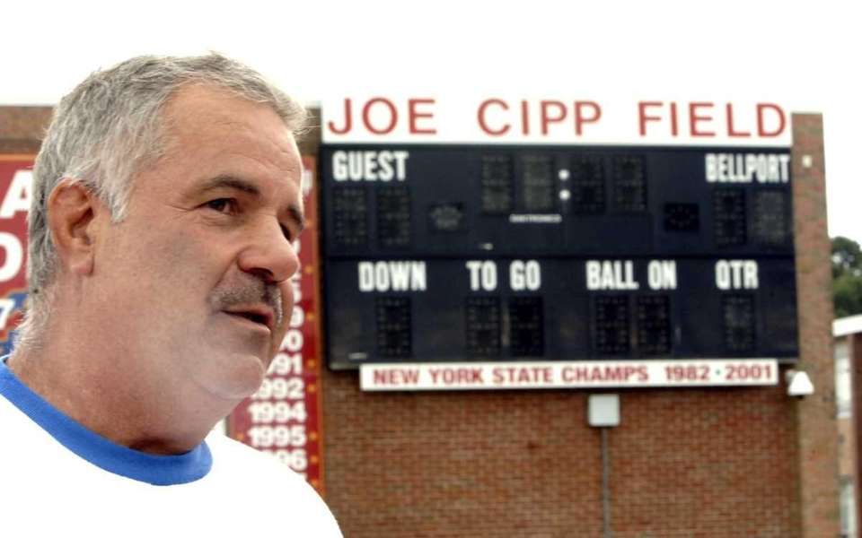 Joe Cipp Jr., the high school football coach