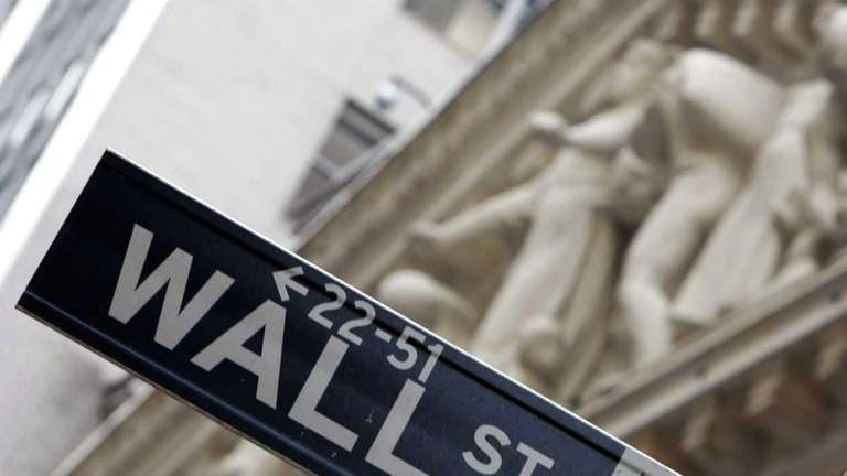 The New York Stock Exchange appears behind a
