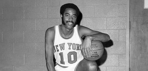 Knicks guard Walt Frazier. (Sept. 15, 1970)