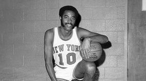 Knicks guard Walt Frazier. (Sept. 15, 1970)