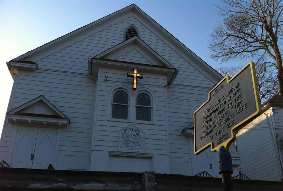 Bethel AME Church and Manse was noted in