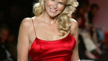 In this file photo, model-actress Christie Brinkley models