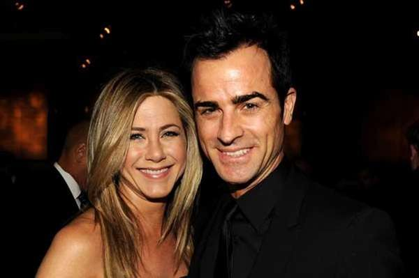 Jennifer Aniston and Justin Theroux. (Getty Images for